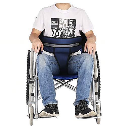 N \ A Cinturón De Seguridad para Silla De Ruedas En Versión Cruzada, Cinturón Ajustable para El Cuidado del Arnés Cruzado En El Pecho, Dispositivo De Seguridad para Pacientes Encamados Y Ancianos