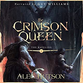 The Crimson Queen audiobook cover art
