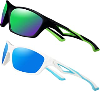 2 Pack Toddlers Sunglasses Polarized Outdoor Sports, with...