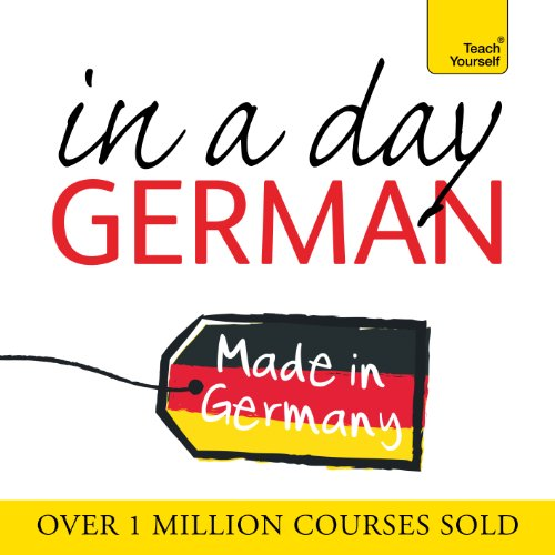 Couverture de German in a Day