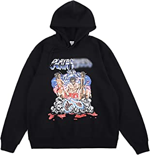Playboi Carti Tour Hoodie Hip Hop Rapper Music Graphic Printing Sweatshirts Heavyweight Pullover Hoodies