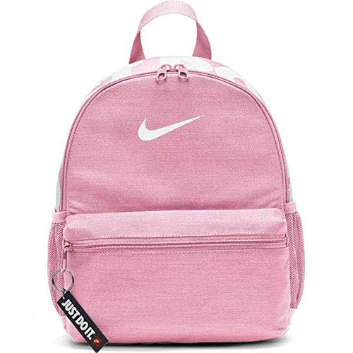 NIKE BRSLA JDI Mini Mochila unisex, color rosa/rosa/blanco, talla única