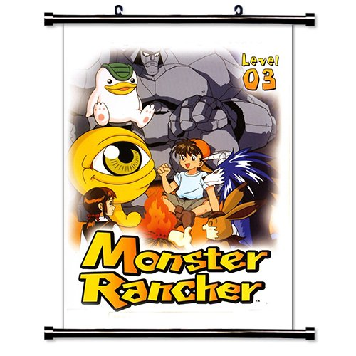 Monster Rancher Anime Fabric Wall Scroll Poster (32 x 47) Inches