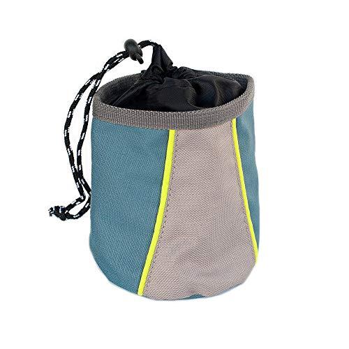 ZippyPaws - Portable Belt Adventure Dog Treat Bag - Forest Green