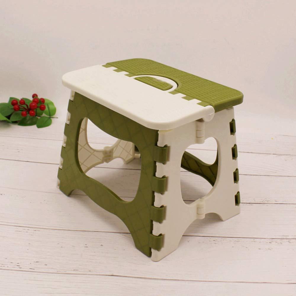 Mailony Súper Fuerte Plegable Taburete de Paso Grueso de plástico Plegable Cocina Stepping Taburetes de jardín Taburete de Paso Antideslizante Plegable Paso Stoola for niños y Adultos: Amazon.es: Hogar