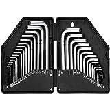 EREBUS Hex Key Allen Wrench Inner Hexagon Spanner Set, 30-piece (WLH041)