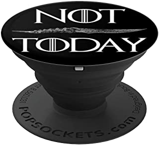 ,GOT Fan Gift,Not Today,Knife Tees For Men Women PopSockets Grip and Stand for Phones and Tablets
