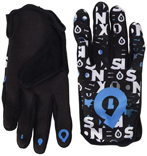 Desconocido 661 Comp Repeater - Guantes Azul Noir/Bleu Cyan Talla:Large