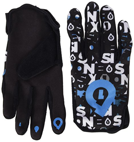SIXSIXONE Handschuh Comp Repeater, Black/Cyan, XL