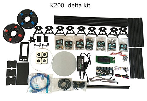 HE3D K200 Delta 3D Drucker Kit_with heat bed_two rolls of filament for your gift - 5