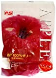 ASフーズ 果汁100%ゼリー りんご味 7個 161g
