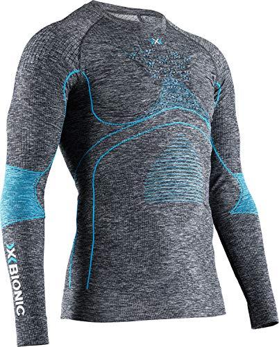 X-Bionic Energy Accumulator 4.0 Melange Shirt Round Neck Long Sleeves Women Sport Maillot de Compression Femme