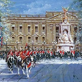 Pack of 8 Horseguards ABF The Soldiers' Charity Fairdeal Charity Christmas Cards