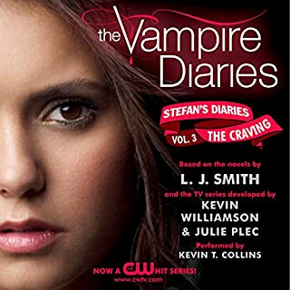 The Vampire Diaries: Stefan's Diaries #3: The Craving                   By:                                                                                                                                 L. J. Smith,                                                                                        Kevin Williamson,                                                                                        Julie Plec                               Narrated by:                                                                                                                                 Kevin T. Collins                      Length: 6 hrs and 19 mins     10 ratings     Overall 3.7