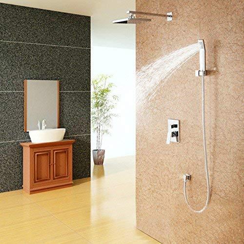 Duschsysteme, Waschbecken Wasserhahn Waschbecken Wasserhahn Intelligentes thermostatisches Regenduschset Warm- und Kaltwasser Edelstahl Duschkopf Waschbecken Wasserhahn Bad Bar Wasserhahn Heimgebrauc