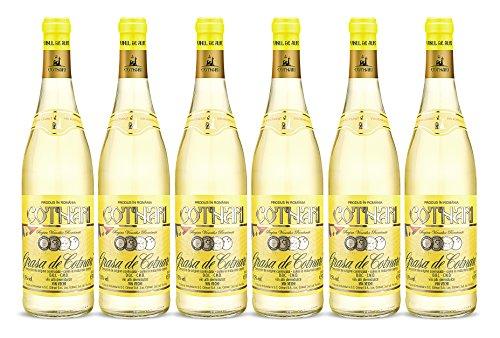 Cotnari | Grasa de Cotnari – Rumänischer Weißwein lieblich | Weinpaket (6 x 0.75 L) D.O.C. – C.M.D. + 1 Kugelschreiber Amigo Spirits gratis