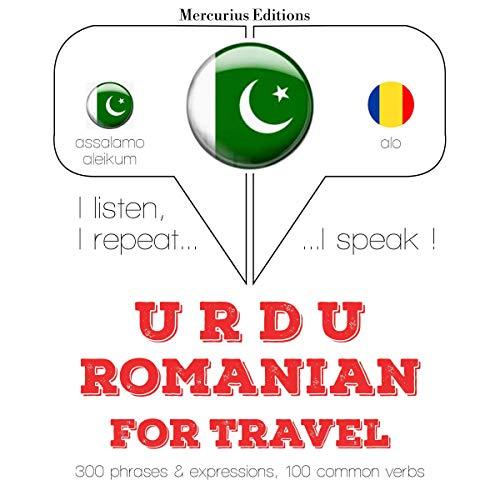 Urdu – Romanian. For travel cover art