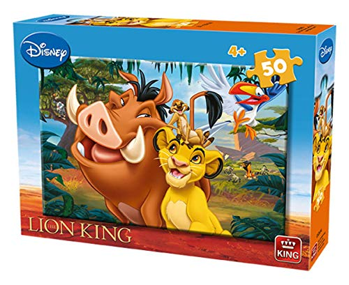 King- Disney Puzzle, Colore Vario, KNG05269