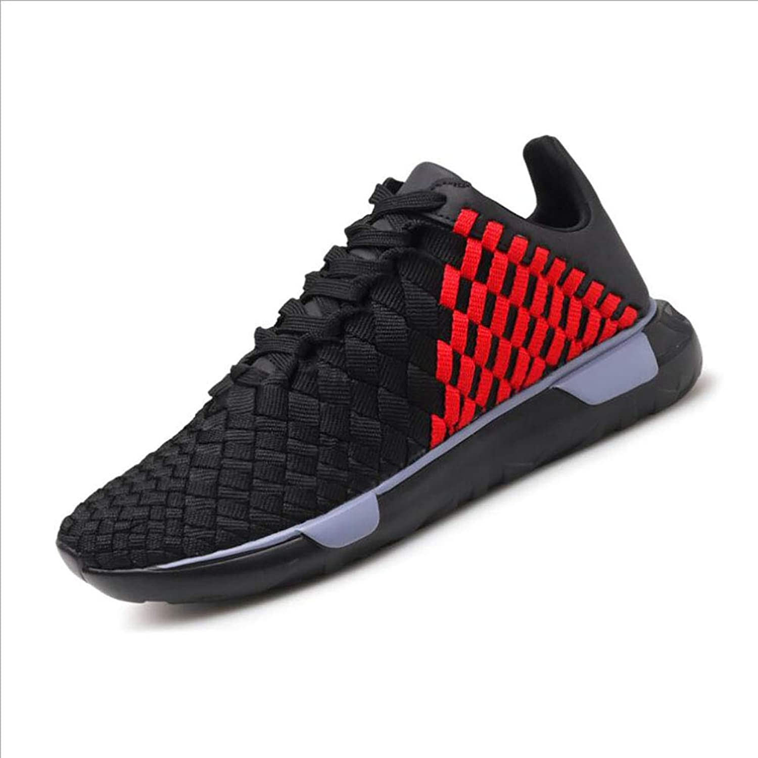 Men's shoes, Spring Fall Woven Cloth Casual Sneakers, Comfort Breathable Running shoes,Casual Travel Lace-up shoes, Trainers shoes
