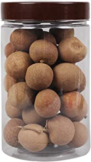 6pcs Grains Conteneurs de bouteilles en plastique transparent bocaux alimentaires, haricots fruits secs Cuisine de stockag...