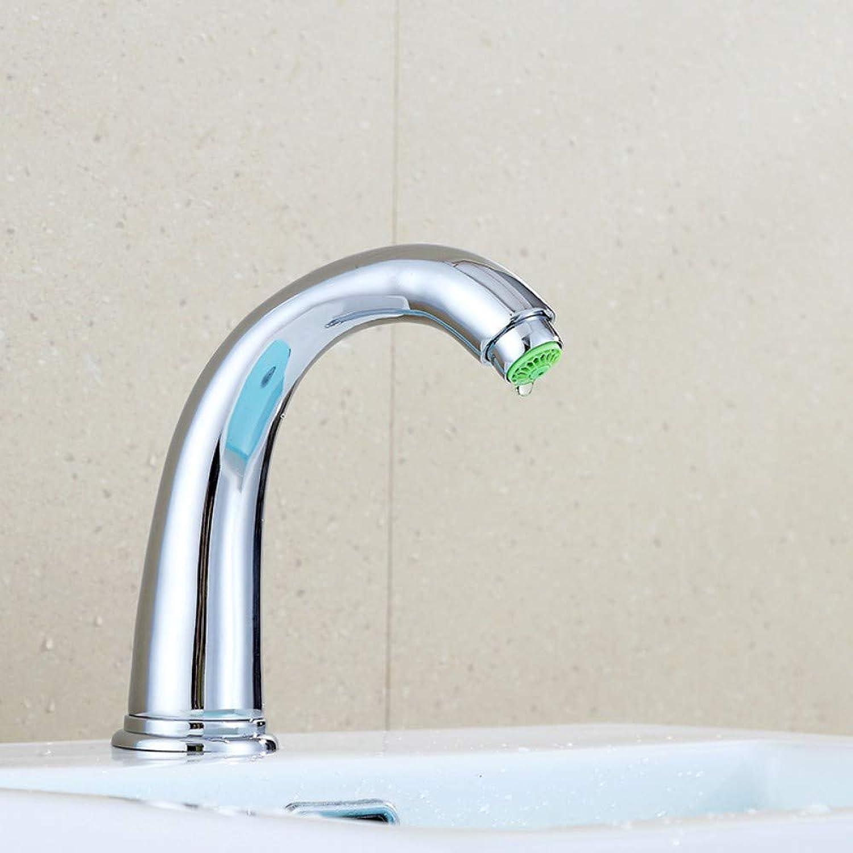 Touch Delay Faucet Basin Sensor Faucet Bathroom Single Cold Faucet