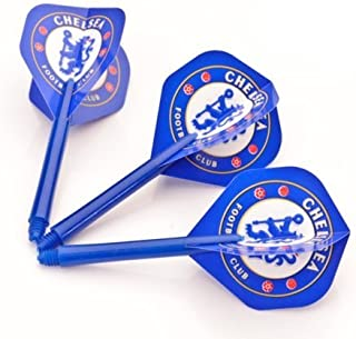 CHELSEA F.C. DARTS FLIGHTS AND MEDIUM STEMS COMBO by PerfectDarts