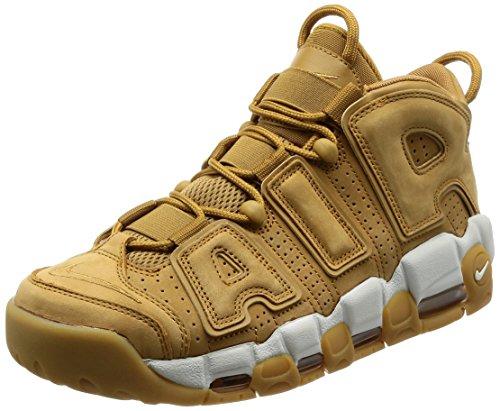 Scarpe da Corsa Uomo Nike Air More Uptempo 96 Wheat Premium NBA Retro Scottie Pippen