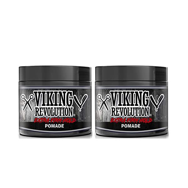 Extreme Hold Pomade for Men – Style & Finish Your Hair (2 Pack) 1