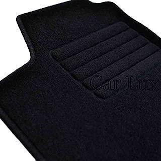 Edition Velour passepoil noir Car Lux/ /ar03845/Tapis de sol voiture sur mesure en velours pour Brera depuis 2006