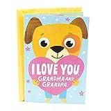 Hallmark Grandparents Day Card from Grandchild (Pop Up Hug to Grandma and Grandpa)