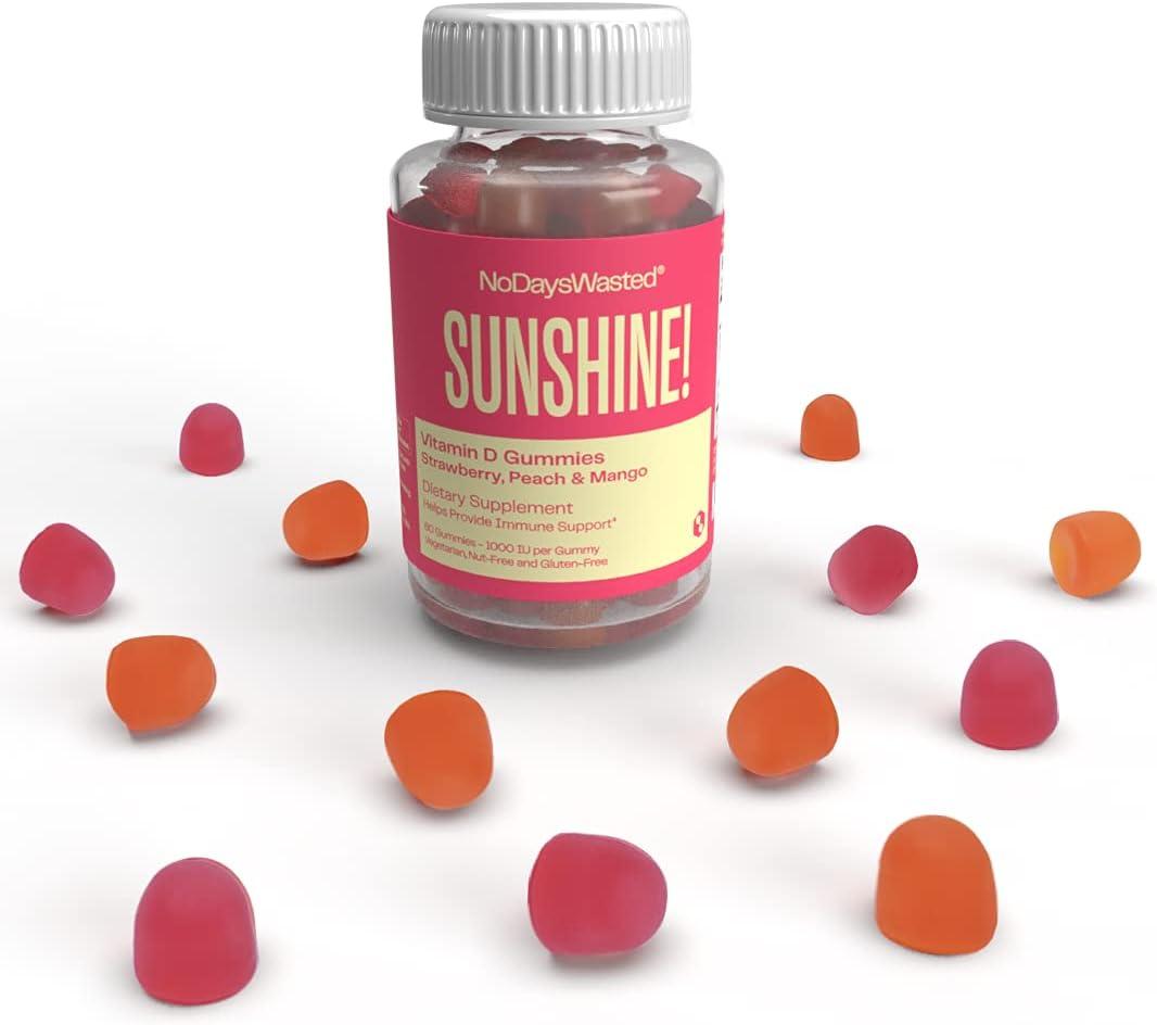 Vitamin Max Ranking TOP11 77% OFF D Sunshine Gummies - No Gum D3 Days Wasted®