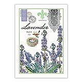 Michel Design Works Kitchen Towel, Lavender Rosemary