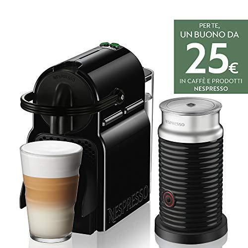 Nespresso Inissia & Aeroccino EN80.BAE Macchina per Caffè...