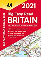 Aa Publishing Big Easy Read 2021 Britain (Aa Big Easy Read Atlas)