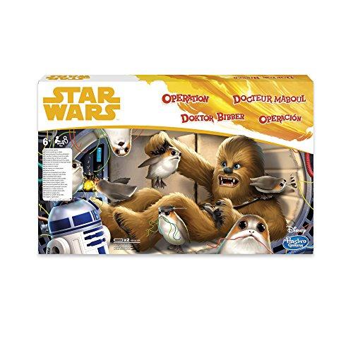 Star Wars Hasbro Juego de Operación Chewbacca Edition