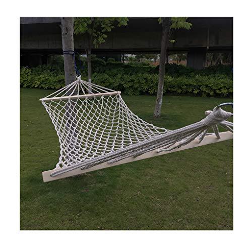 IVEGLA ハンモック 木枠付き 耐荷重150kg 室内 室外 兼用 メッシュハンモック 公園 ピクニック 軽量 携帯便...