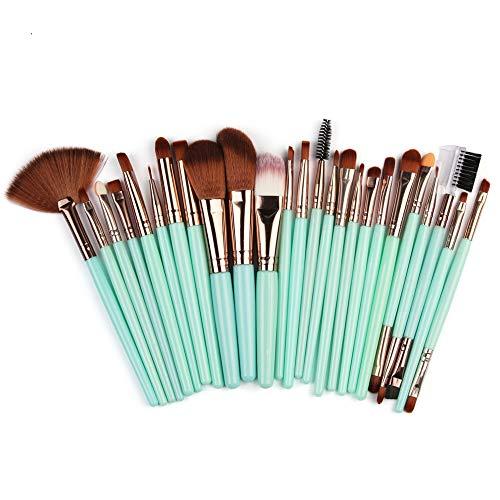 Pinceaux de maquillage WINJIN Pinceau maquillage Professionnel 25pcs/Kit de Maquillage Brosse de Cosmétique Makeup brushes Set Outils de maquillage Noir Rose Violet Jaune