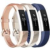 Tobfit Bracelet pour Fitbit Alta/Fitbit Alta HR Replacement en TPU Confortable Réglable Sport...
