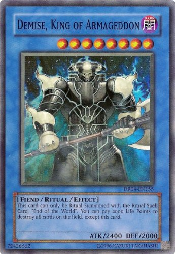 Yu-Gi-Oh! - Demise, King of Armageddon (SOI-EN035) - Shadow of Infinity - Unlimited Edition - Super Rare
