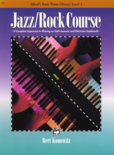 Alfred\'s Basic Jazz/Rock Course: Lesson Book, Level 3
