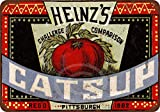 Yilooom 1883 Heinz's Catsup Vintage Look Reproduction Metal Sign 8 X 12
