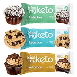 MACROS MADE FOR KETO. Keto snacks just got easier (and tastier!). Kiss My Keto Bars are full of healthy fats, low in carbs, packed with protein and totally tasty — perfect for a ketogenic diet or low-carb lifestyle. Macros: 20g Fat, 9g Protein, 3g ne...