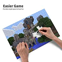 マインクラフト Minecraft 300ピース ジグソーパズルマイクロピース 友達家族同級生カップルに最高のプレゼントを贈ります初心者向け ギフト 学校の始まり プレゼント(38x26cm)