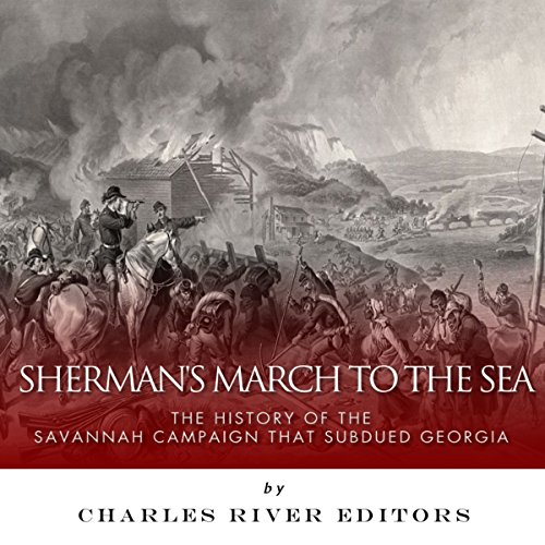 Sherman's March to the Sea audiobook cover art