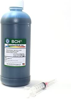BCH Standard Universal Cyan Refill Ink - 500 ml (16.9 oz) Photo Dye for All Printers: HP, Canon, Epson, Lexmark, Brother and Dell Printers