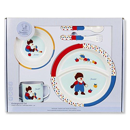 Sterntaler 6801729 Kindergeschirr-Set Bobby, mehrfarbig