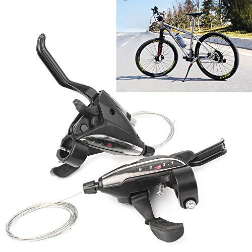 Three T Palanca de freno de bicicleta juego de palanca de cambio...