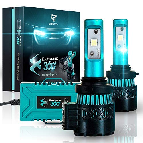 Glowteck 9006/HB4 LED Headlight Bulbs Conversion Kit