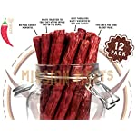 Health Shopping Mission Meats Keto Sugar Free Grass-Fed Beef Snacks Sticks Non-GMO