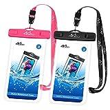 MoKo wasserdichte Handy Tasche 2 Pack, Universal